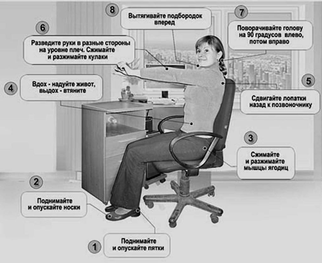 Скрытая гимнастика Воробьева