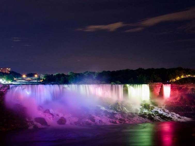 Водопад Ниагара. Канада и США