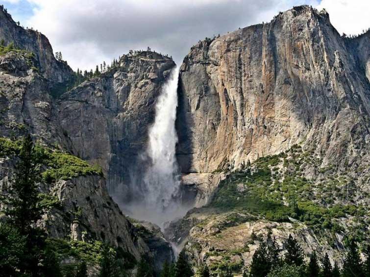 Водопад Йосемит, США
