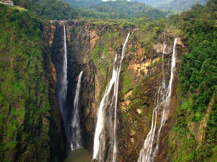 Водопад Джог в Индии