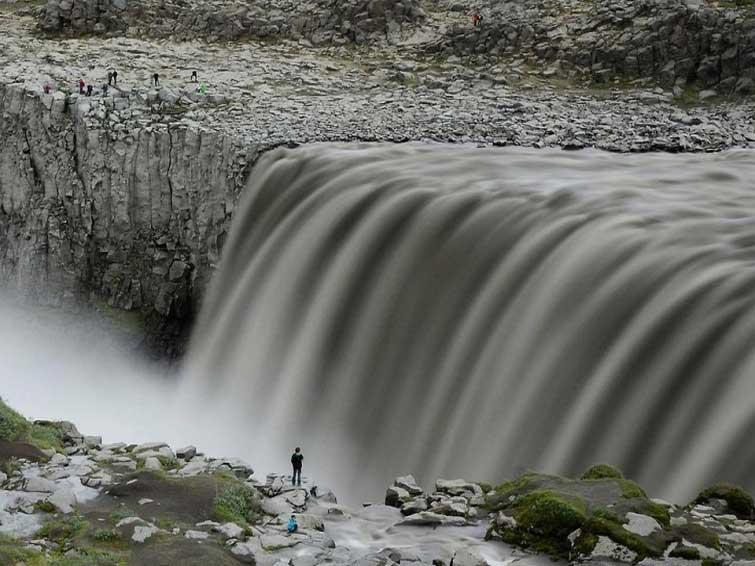 Деттифосс в Исландии