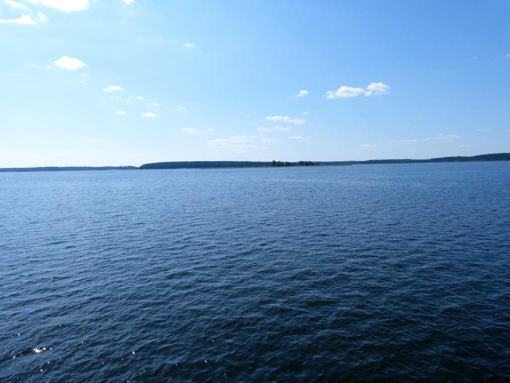 Селигер. Вид на озеро