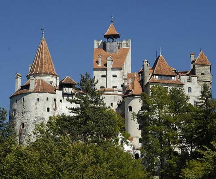Карпаты. Замок Бран (Замок Дракулы)