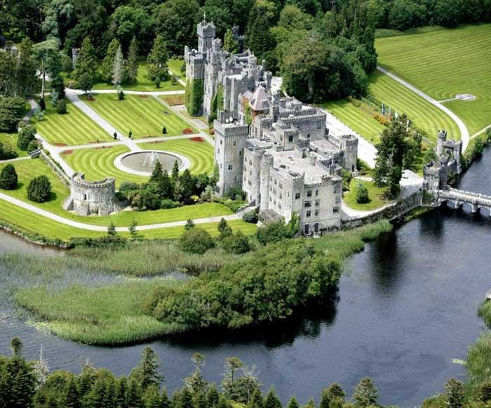Ирландия. замок Эшфорд