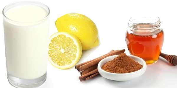 Кефир с мёдом