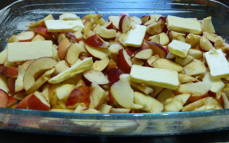 Маргарин на яблоках