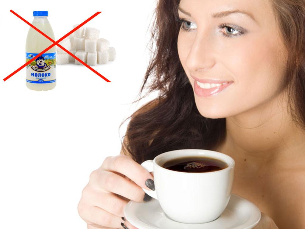 Кофе без молока и сахара