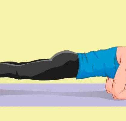 Упражнения для похудения живота за 2 недели
