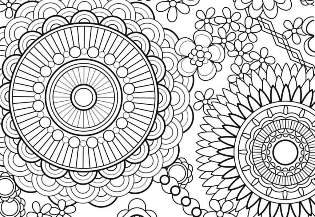 Медитативные раскраски