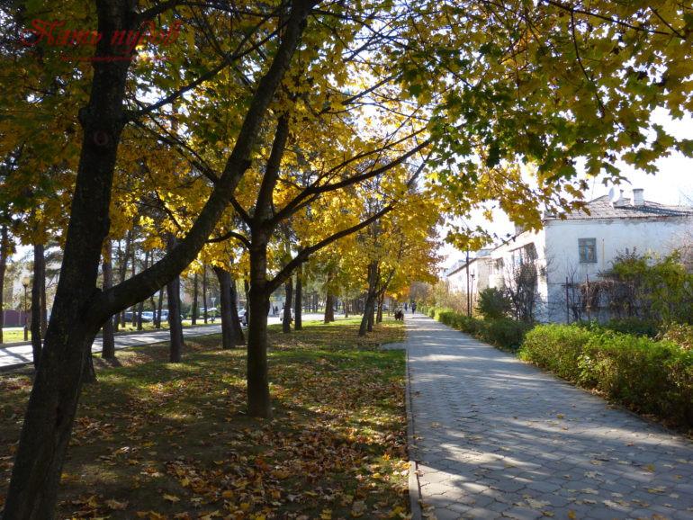 Осень в Горячем Ключе