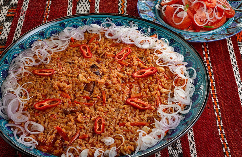 шавля- узбекская каша